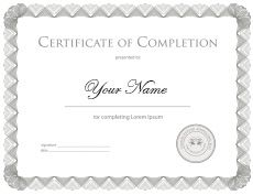 hair extension certificate