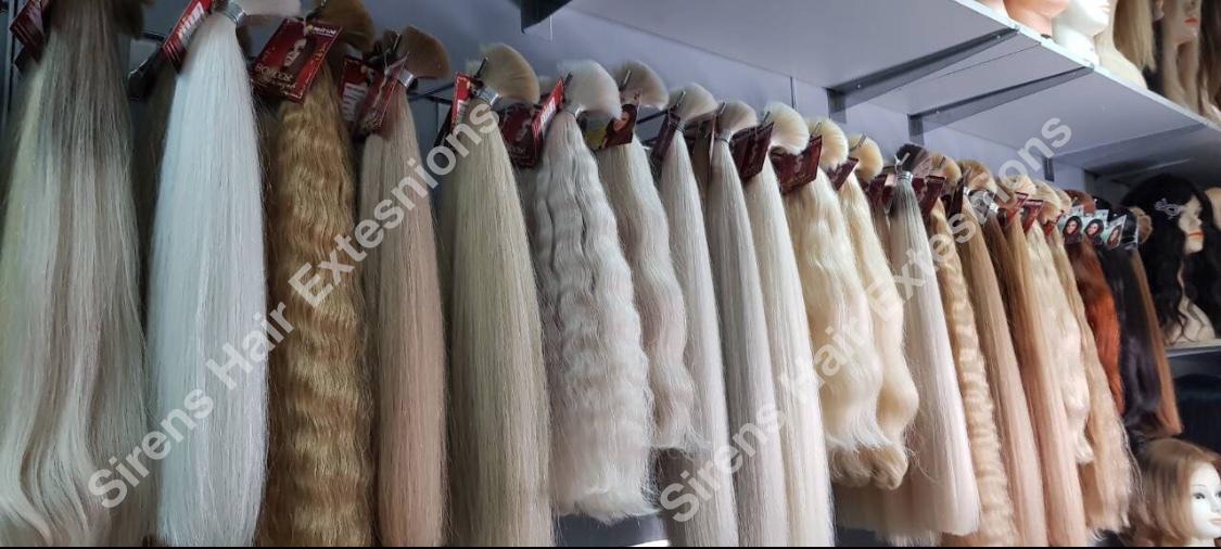 row custom made hair