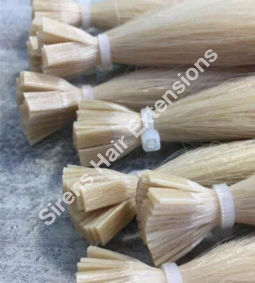 russian glue tip hair