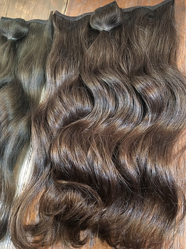 russian salvic virgin weft hair