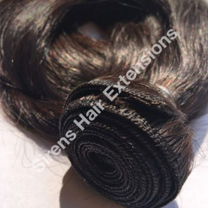 russian weft hair