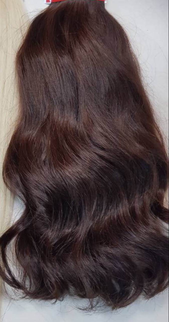 dark brown custom hair