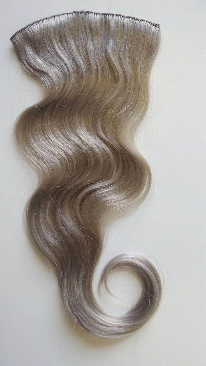 custom made wavy blonde hair